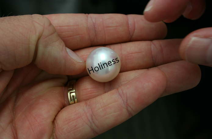 Holiness - the pearl of great price